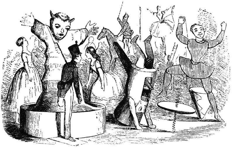 Museo de Miniaturas Militares - El Soldadito de Plomo, en una ilustración de 1850 (1).