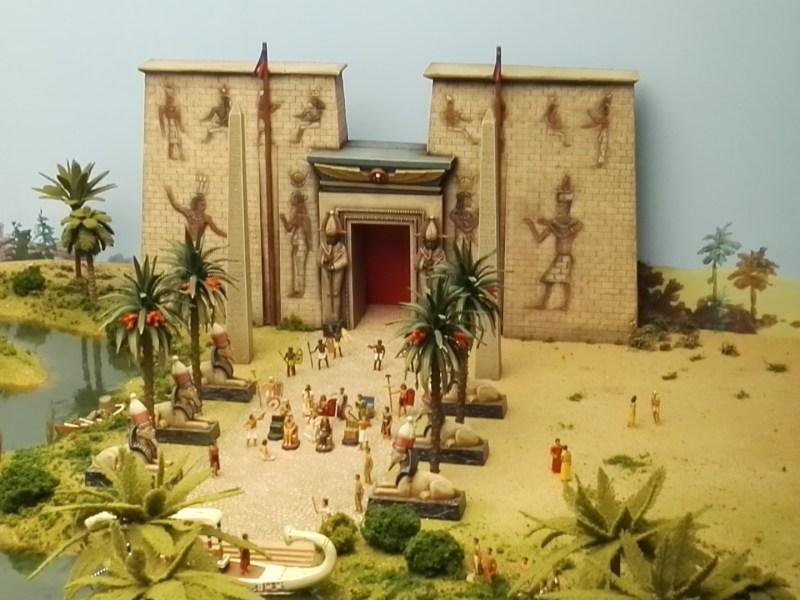 Museo de Miniaturas Militares - Antiguo egipto