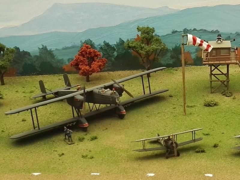 Museo de Miniaturas Militares - Biplano alemán Junkers.