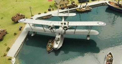 Museo de Miniaturas Militares - Un hidroavión Dornier.