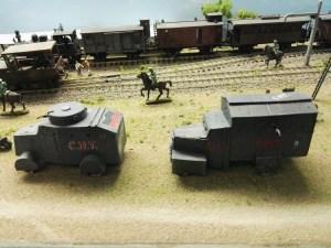 Museo de Miniaturas Militares - Vehículos de transporte blindados.
