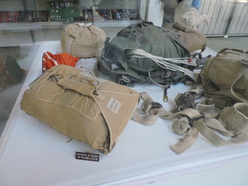 Museo del Aire - ... y en su mochila.