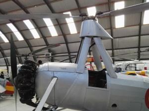 Museo del Aire - Soporte del rotor del C-30.