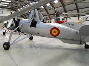 Museo del Aire - Autogiro La Cierva C-30.