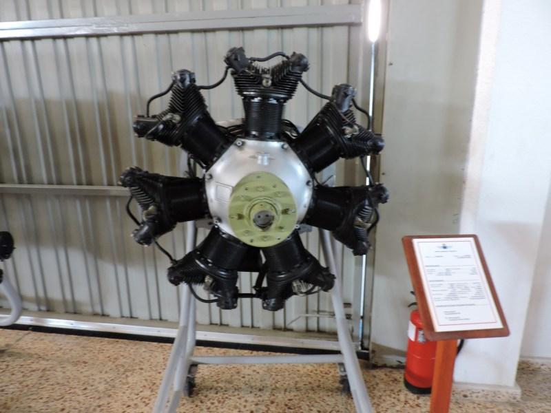 Museo del Aire - Motor radial Warner Scarab.
