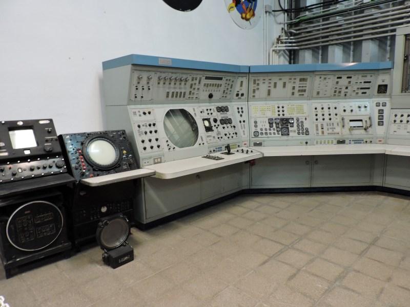 Museo del Aire - Sistemas de control de tráfico aéreo.