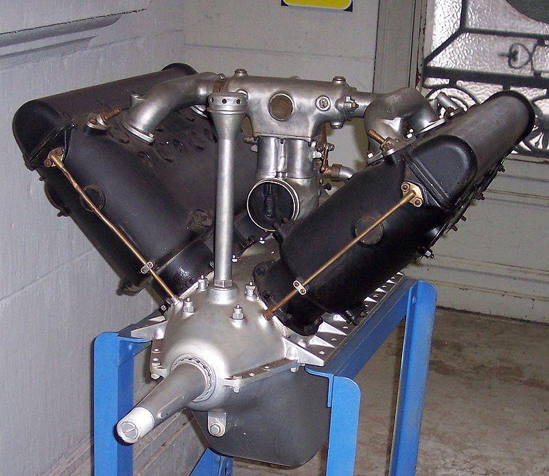 Museo del Aire - El H-S V8, un motor que equipó miles de aviones de toda Europa (12).