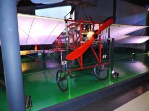 Museo del Aire - Avión Vilanova-Acedo de 1911. Es el más antiguo conservado en España.