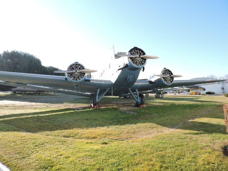 Museo del Aire - CASA 352. Se trata de un Junkers Ju-52 fabricado con licencia por CASA a partir de 1942.