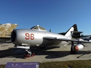 Museo del Aire - Mikoyan Gurevich MIG-17. Se fabricaron más de 10.000 unidades de este avión, presente en todos los ejércitos del Pacto de Varsovia. Este ejemplar procede del Ejército de Bulgaria.
