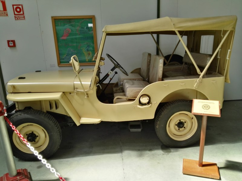 Museo del Aire - Jeep Willys restaurado.