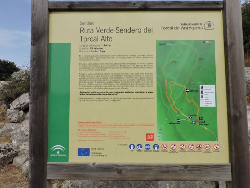 El Torcal de Antequera - Ruta Verde.