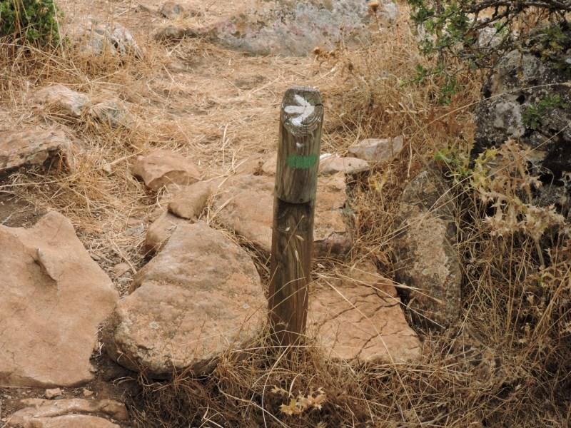 El Torcal de Antequera - La mayoría de los indicadores están correctamente señalizados...