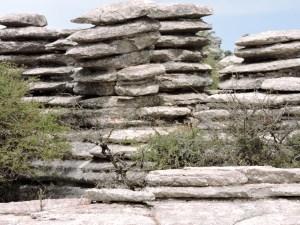 El Torcal de Antequera - Los paisajes kársticos son sencillamente espectaculares.