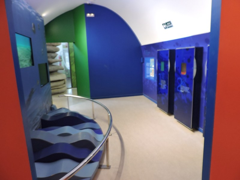 El Torcal de Antequera - La zona didáctica del centro de visitantes está muy bien organizada.