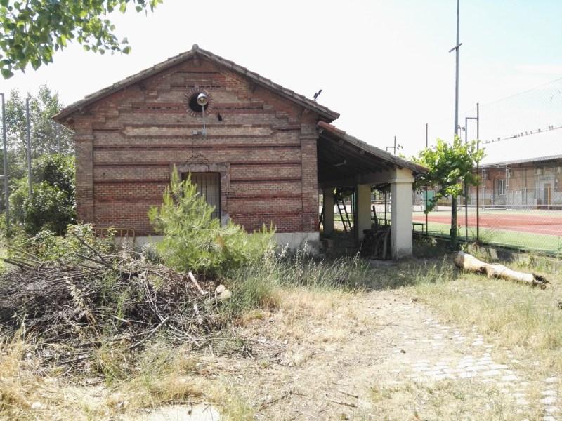 Almacén del MUNCYT - Edificio del fielato, para el control sanitario y de aranceles. Es el fielato en mejor estado de conservación de toda España.