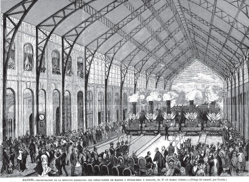 Almacén del MUNCYT - Inauguración en 1880 por parte de Alfonso XII de la Estación de las Delicias (3).