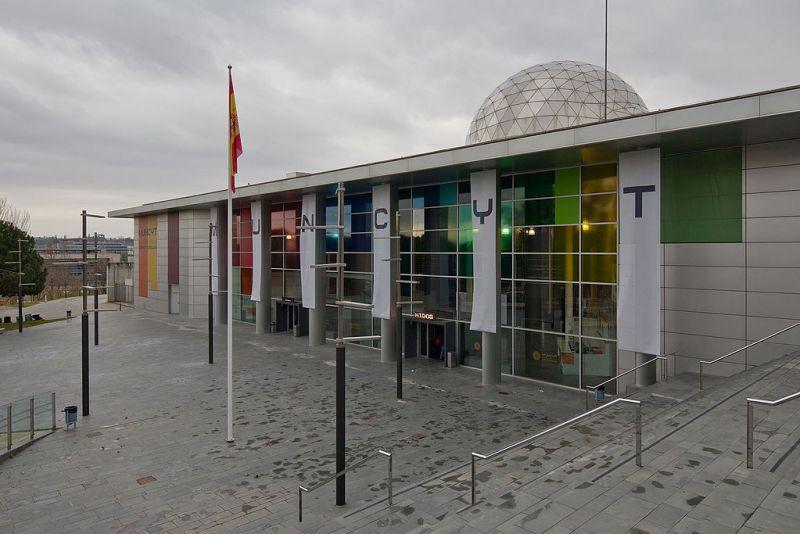 Almacén del MUNCYT - La sede del MUNCYT Alcobendas está en el antiguo CosmoCaixa (1).