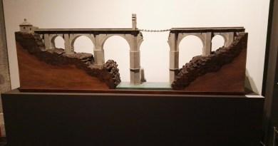Maquetas y Modelos Históricos - Puente de Alcántara, construido por Trajano y destruido por el Duque de Wellington.