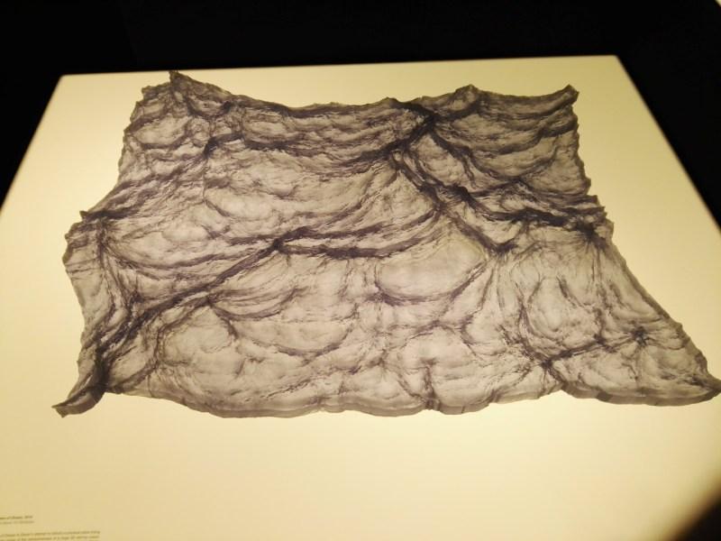 3D Imprimir el Mundo - Representación artística de una tempestad en el océano (Gever, 2014).