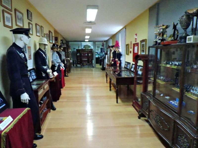 Museo Policía de Madrid - Sala histórica del museo.