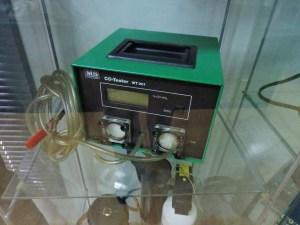 Museo Policía de Madrid - Medidor de CO (monóxido de carbono) para coches.