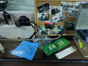 Museo Policía de Madrid - Material de análisis de accidentes.