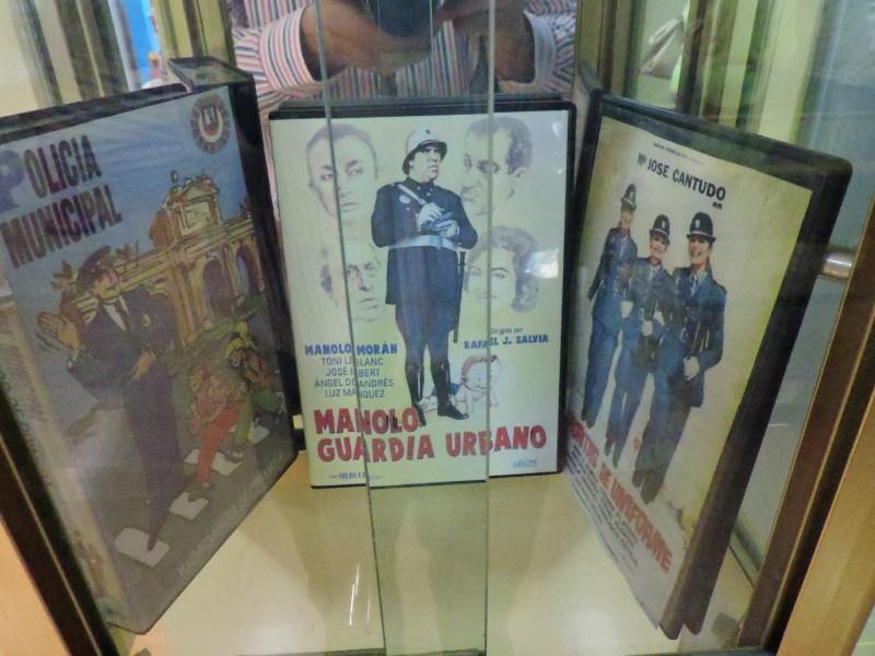 """Museo Policía de Madrid - """"Manolo, guardia urbano"""", """"Señoritas de uniforme"""" .... son varias las películas con la Policía Municipal como protagonista."""