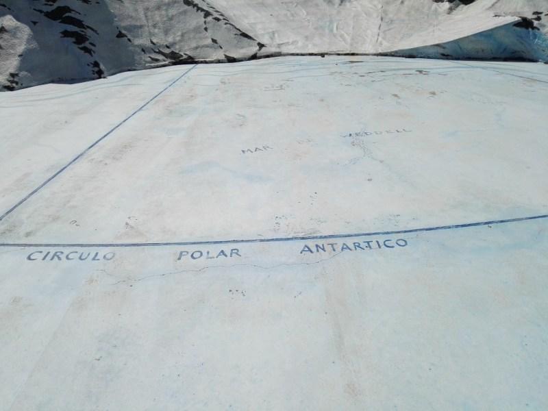 Rotonda de la Antártida - Mar de Weddell.