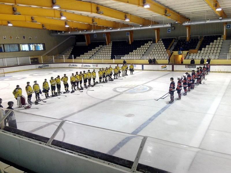 El Jugador de Hockey - Pista de hielo de Puigcerdá, inaugurada en 1986.