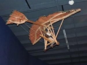 El vuelo de Diego Marín - Vista posterior.