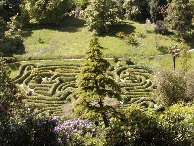 El Laberinto de Villapresente - Laberinto de Glendurgan Garden, Cornwall - Reino Unido (6).