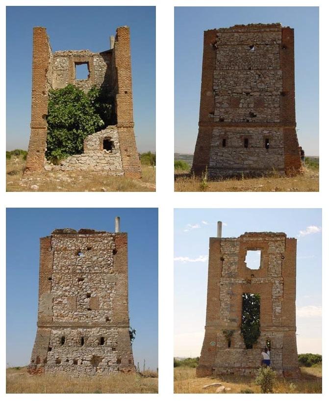 El telégrafo óptico - Estado de la Torre del Telégrafo de Arganda del Rey antes de su restauración (13).