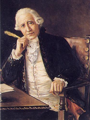 El telégrafo óptico - Retrato del español Francisco Salvá y Campillo, inventor del telégrafo eléctrico (10).