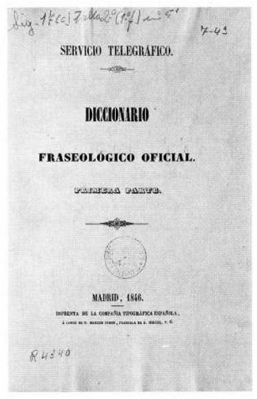 El telégrafo óptico - Libro de códigos del servicio telegráfico, al que sólo los comandantes tenían acceso (7).