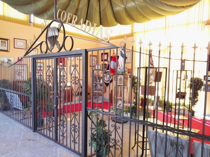 Museo de la Bripac - Sala de Cofradías, dedicada a la tradición paracaidista de participación en estos actos.