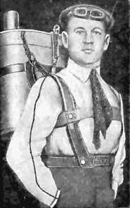 Museo de la Bripac - Gleb Kotelnikov, inventor de la mochila paracaídas (4).