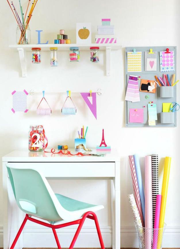 Cómo armar tu propio rincón o habitación para manualidades ... on Room Decor Manualidades Para Decorar Tu Cuarto id=82868