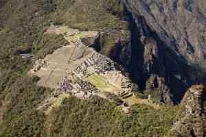 Donde comprar las entradas a Mahcu Picchu - vista desde Huayna Picchu