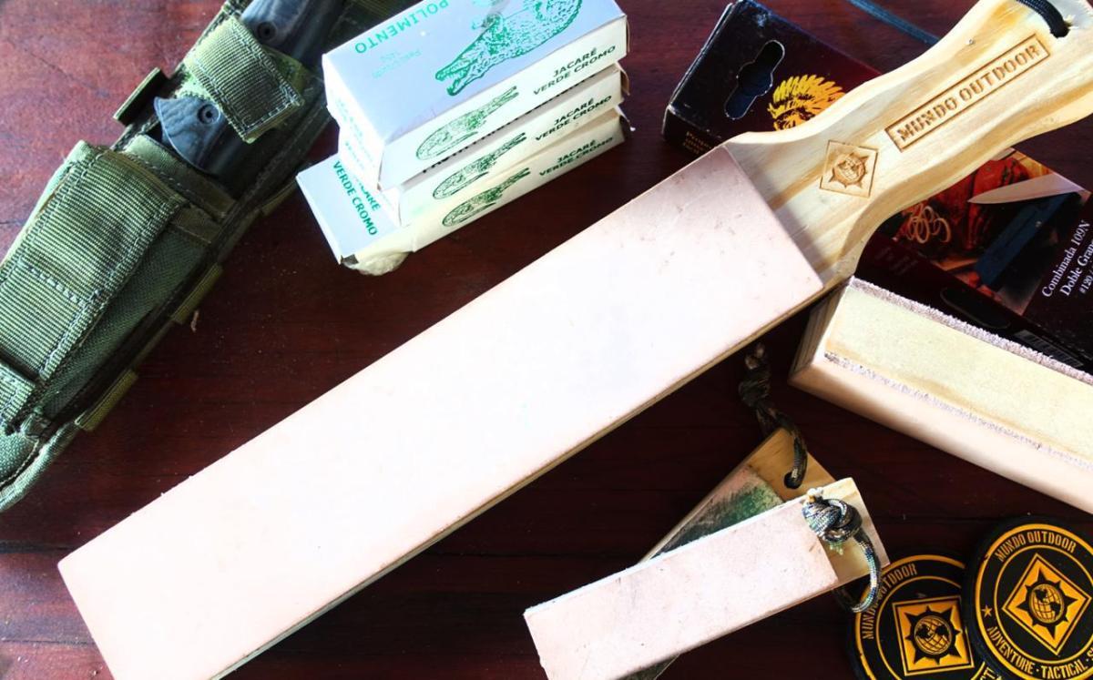 Você sabe como usar um strop de afiação?