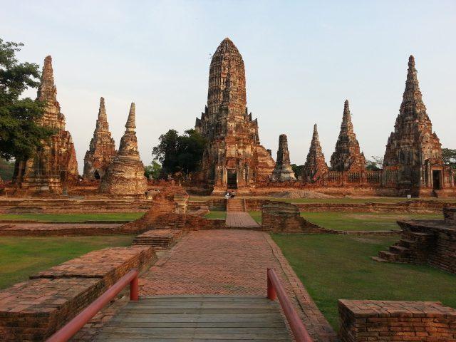 Ayutthayah templos Chaiwatanaram