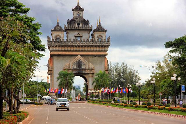 Vientiane guia en tailandia Laos español
