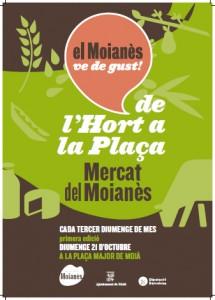 MERCAT DE L'HORT A LA PLAÇA - MOÌÀ
