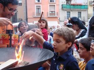 Flama del Canigó - Manresa 2012