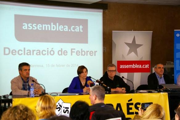 ANC - Declaració de febrer a Manresa