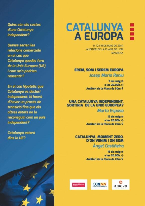 Catalunya a Europa cartell_1024