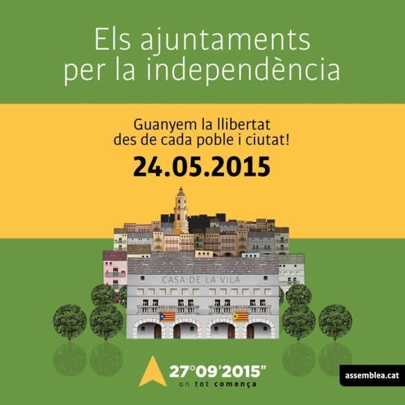 ajuntaments per la independencia