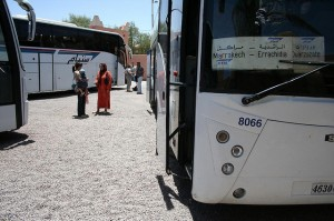 Viajar de Autocarro / Onibus em Marrocos
