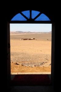 Paisagem do Deserto do Saara