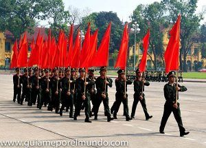 Desfile en Hanoi